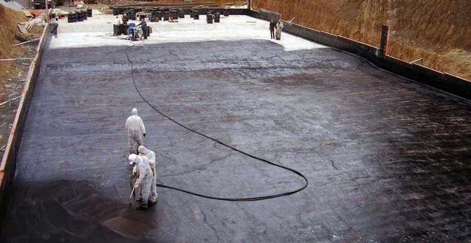 Безшовная напыляемая гидроизоляция в воронеже наливной пол стоимость во владимире